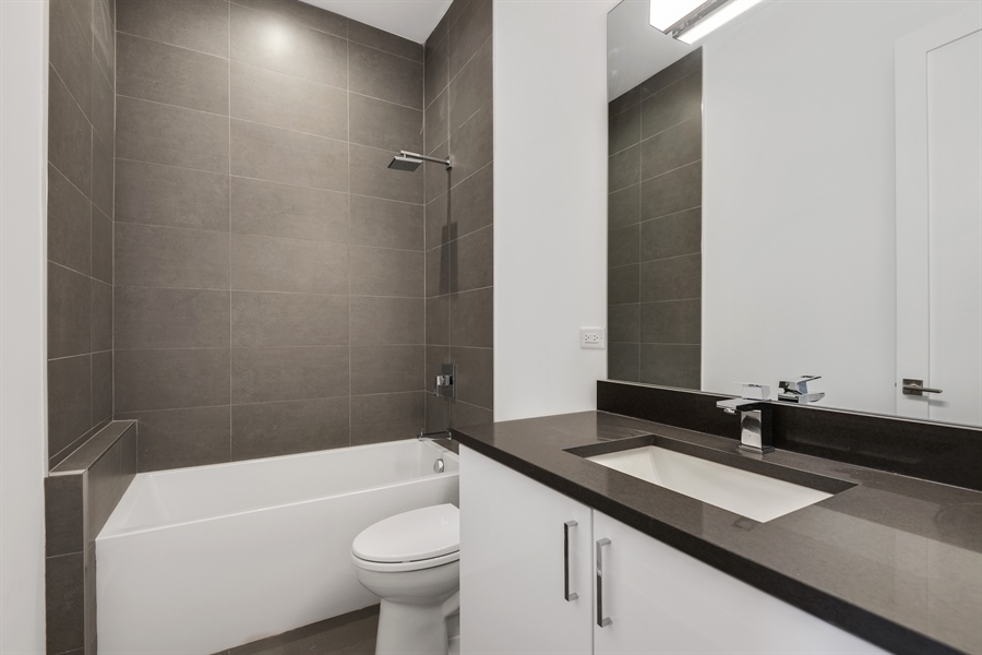 Real Estate Photography - 2649 N Mildred, Unit #3N, Chicago, IL, 60614 - Bathroom