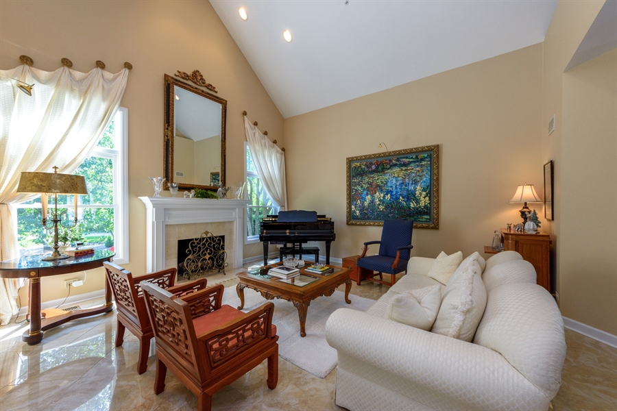 Real Estate Photography - 6322 Valley View, Long Grove, IL, 60047 - Living Room