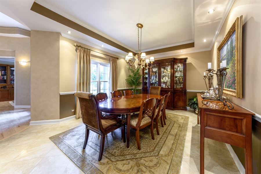 Real Estate Photography - 6322 Valley View, Long Grove, IL, 60047 - Dining Room