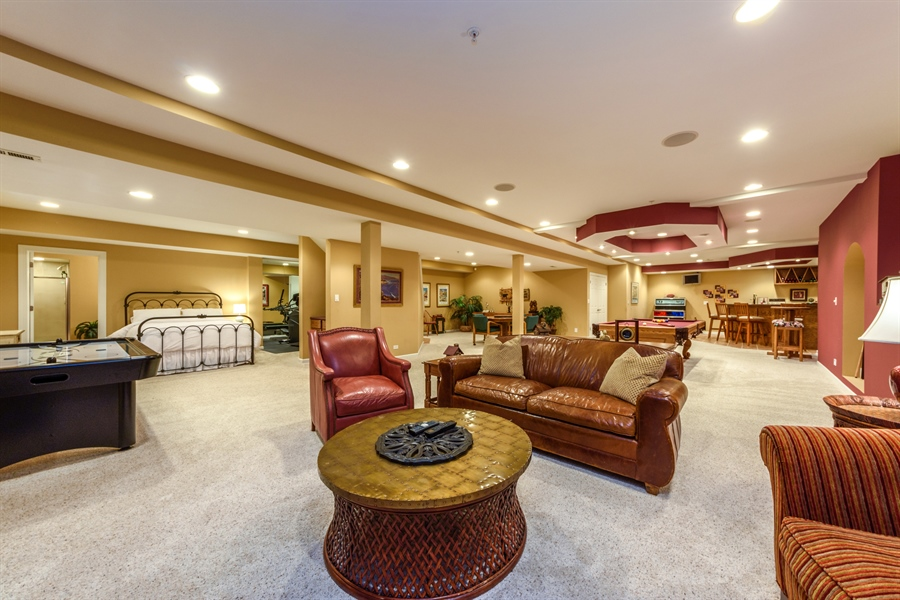 Real Estate Photography - 6322 Valley View, Long Grove, IL, 60047 - Basement