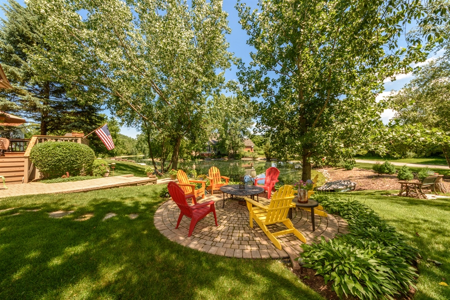 Real Estate Photography - 6322 Valley View, Long Grove, IL, 60047 - Back Yard