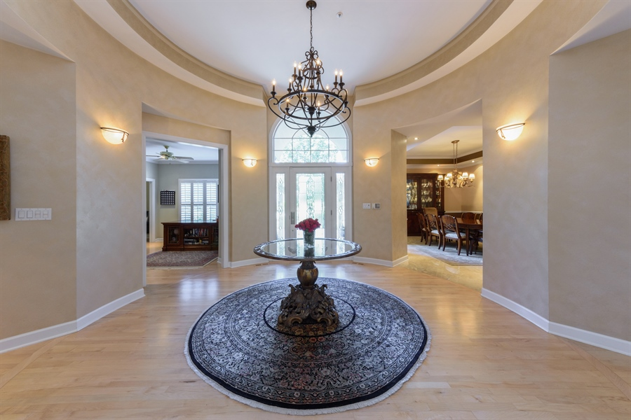 Real Estate Photography - 6322 Valley View, Long Grove, IL, 60047 - Foyer