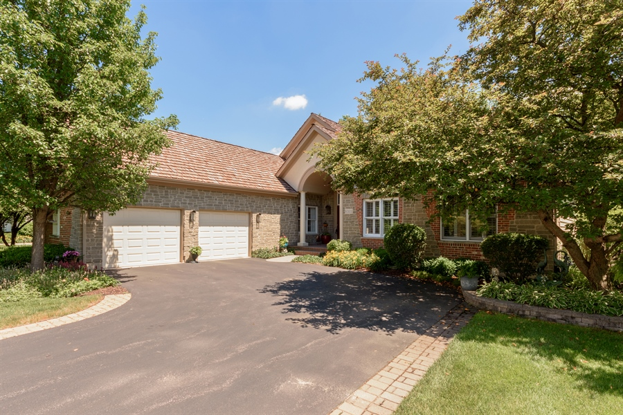 Real Estate Photography - 6322 Valley View, Long Grove, IL, 60047 - Front View