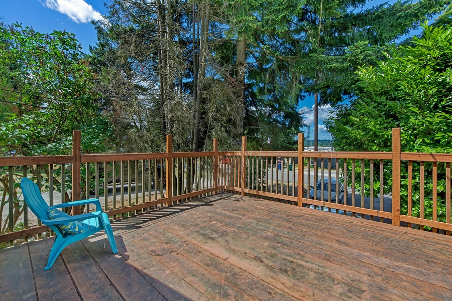 Real Estate Photography - 34212 18th Pl S, Federal Way, WA, 98003 - Deck