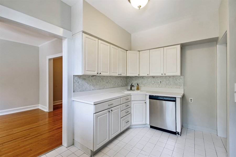 Real Estate Photography - 547 W. Addison St, Unit 2S, Chicago, IL, 60613 - Kitchen