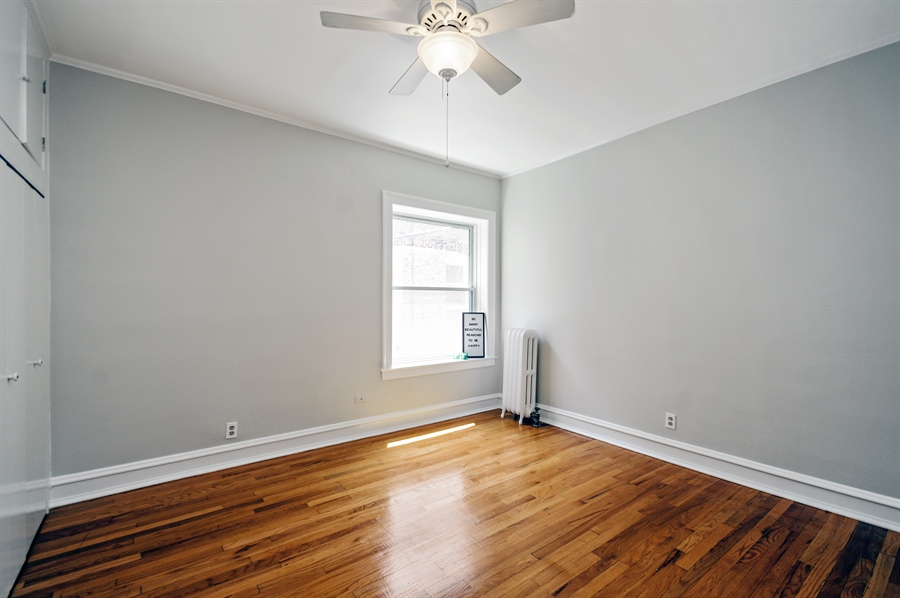 Real Estate Photography - 547 W. Addison St, Unit 2S, Chicago, IL, 60613 - Bedroom