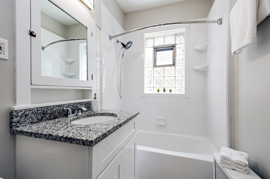Real Estate Photography - 547 W. Addison St, Unit 2S, Chicago, IL, 60613 - Bathroom