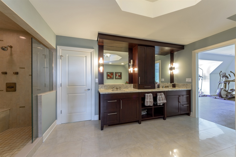 Real Estate Photography - 23175 N. Matthew, Long Grove, IL, 60047 - Master Bathroom