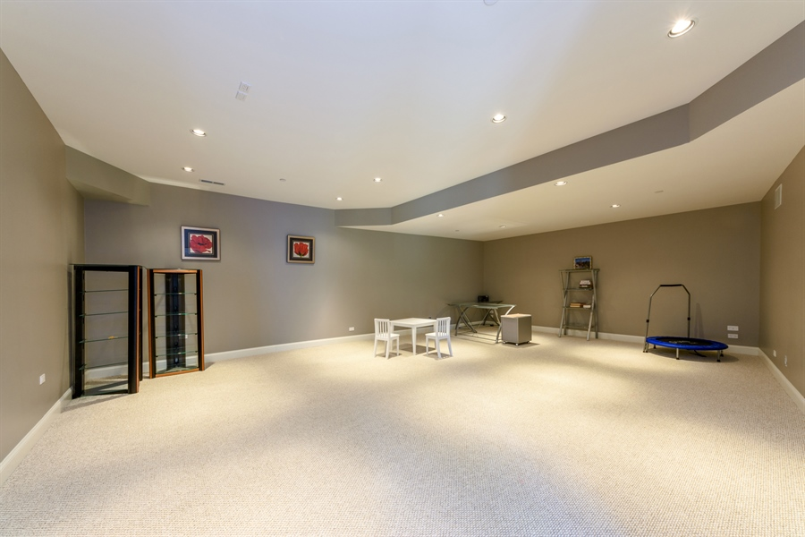 Real Estate Photography - 23175 N. Matthew, Long Grove, IL, 60047 - Basement