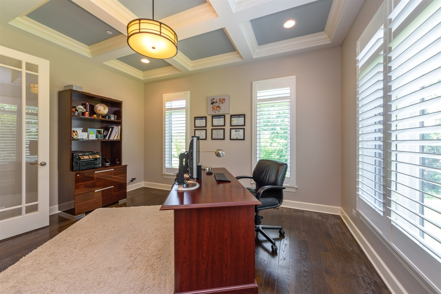 Real Estate Photography - 23175 N. Matthew, Long Grove, IL, 60047 - Office