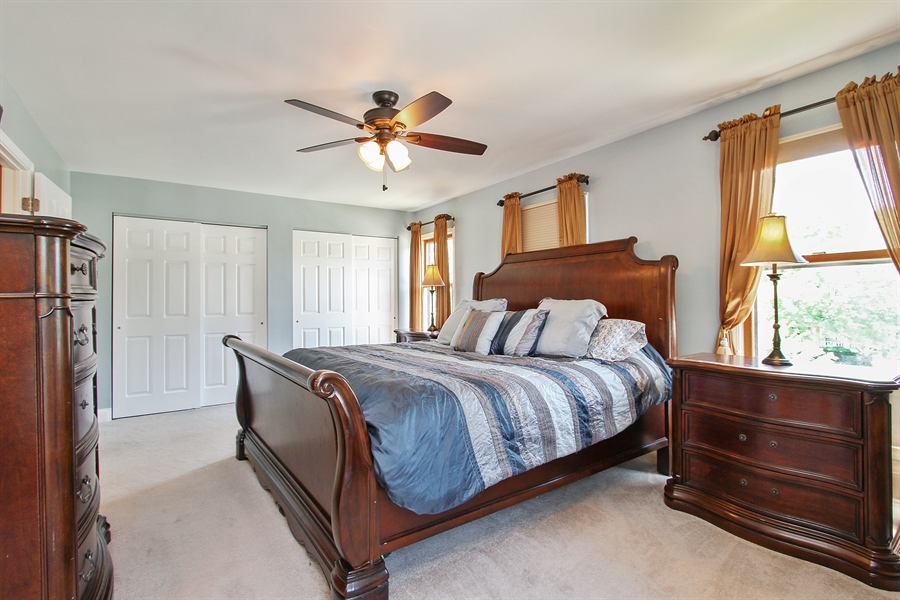 Real Estate Photography - 4291 Forest Glen Dr, Hoffman Estates, IL, 60192 - Master Bedroom