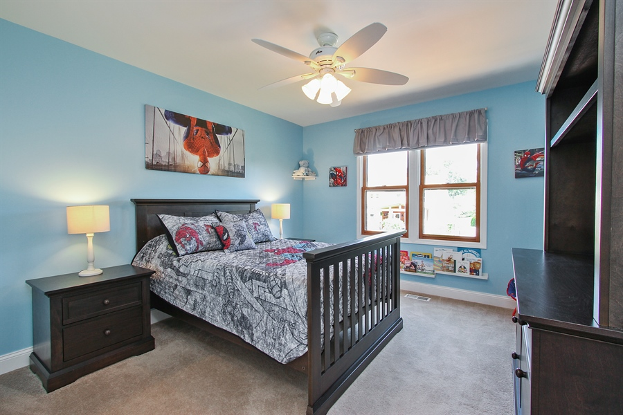 Real Estate Photography - 4291 Forest Glen Dr, Hoffman Estates, IL, 60192 - Bedroom