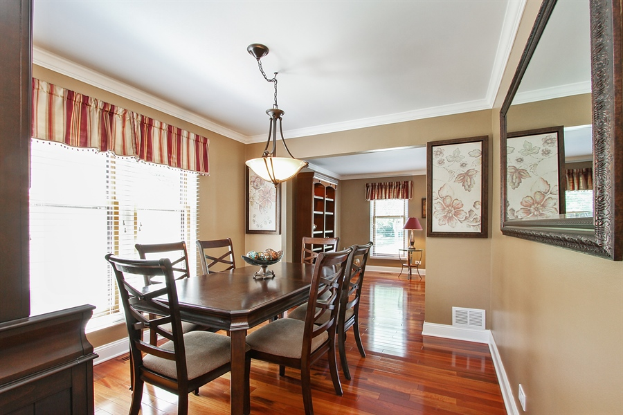 Real Estate Photography - 4291 Forest Glen Dr, Hoffman Estates, IL, 60192 - Dining Area