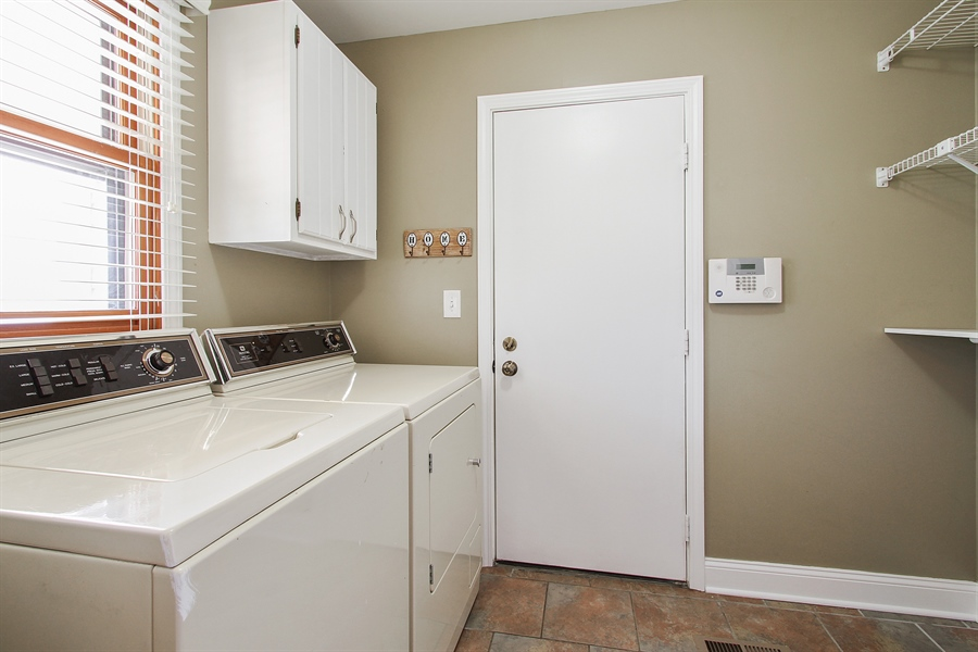 Real Estate Photography - 4291 Forest Glen Dr, Hoffman Estates, IL, 60192 - Laundry Room