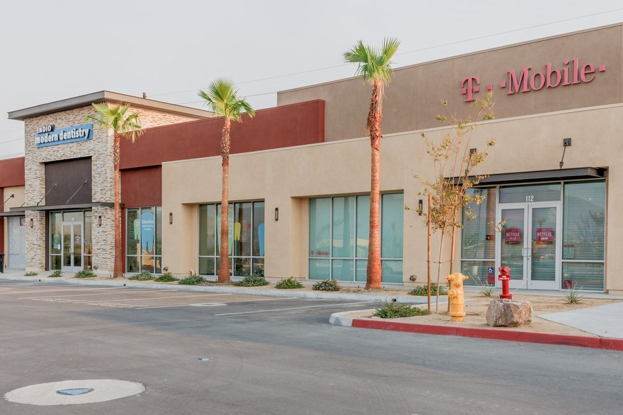 Real Estate Photography - 82151 Avenue 42, Ste 100,Indio Modern Dentistry, Indio, CA, 92203 - Front View