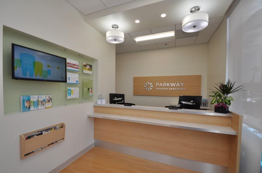 Real Estate Photography - 7565 W Washington Ave, 101,Parkway Modern Dentistry, Las Vegas, NV, 89128 -