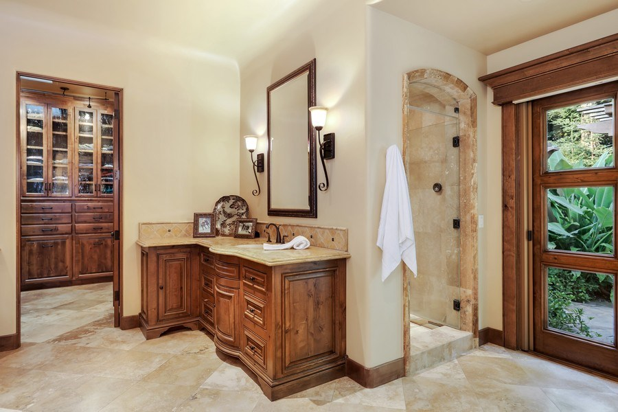 Real Estate Photography - 5183 Chelshire Downs Rd, Granite Bay, CA, 95746 - Master Bathroom