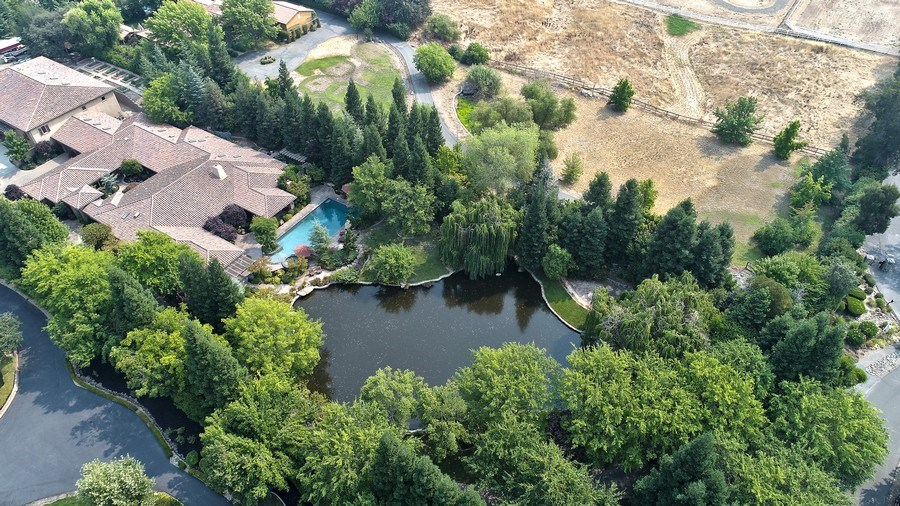 Real Estate Photography - 5183 Chelshire Downs Rd, Granite Bay, CA, 95746 - Aerial View