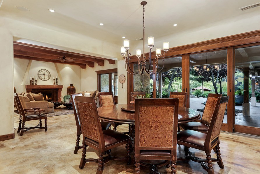 Real Estate Photography - 5183 Chelshire Downs Rd, Granite Bay, CA, 95746 - Dining Room