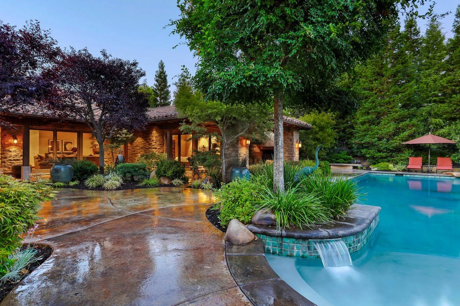 Real Estate Photography - 5183 Chelshire Downs Rd, Granite Bay, CA, 95746 - Pool