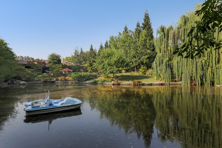 Real Estate Photography - 5183 Chelshire Downs Rd, Granite Bay, CA, 95746 - Pond