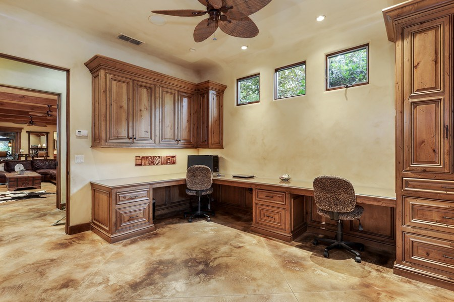 Real Estate Photography - 5183 Chelshire Downs Rd, Granite Bay, CA, 95746 - Office
