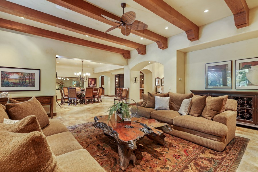 Real Estate Photography - 5183 Chelshire Downs Rd, Granite Bay, CA, 95746 - Living Room / Dining Room