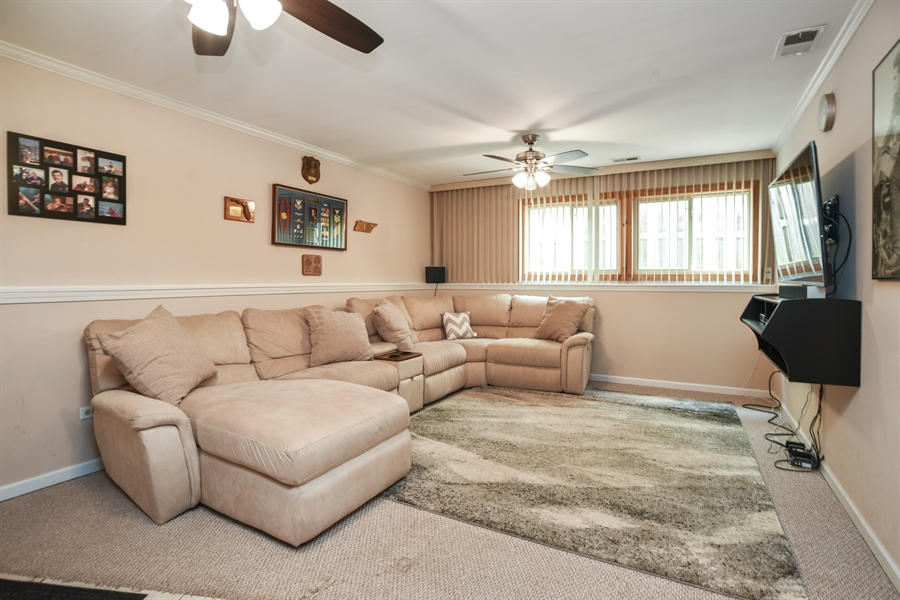 Real Estate Photography - 2946 W Nemesis Ave, Waukegan, IL, 60087 - Fantastic Family Room