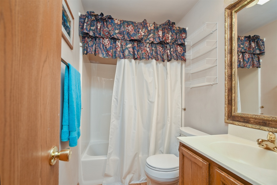 Real Estate Photography - 2946 W Nemesis Ave, Waukegan, IL, 60087 - Hall Bathroom