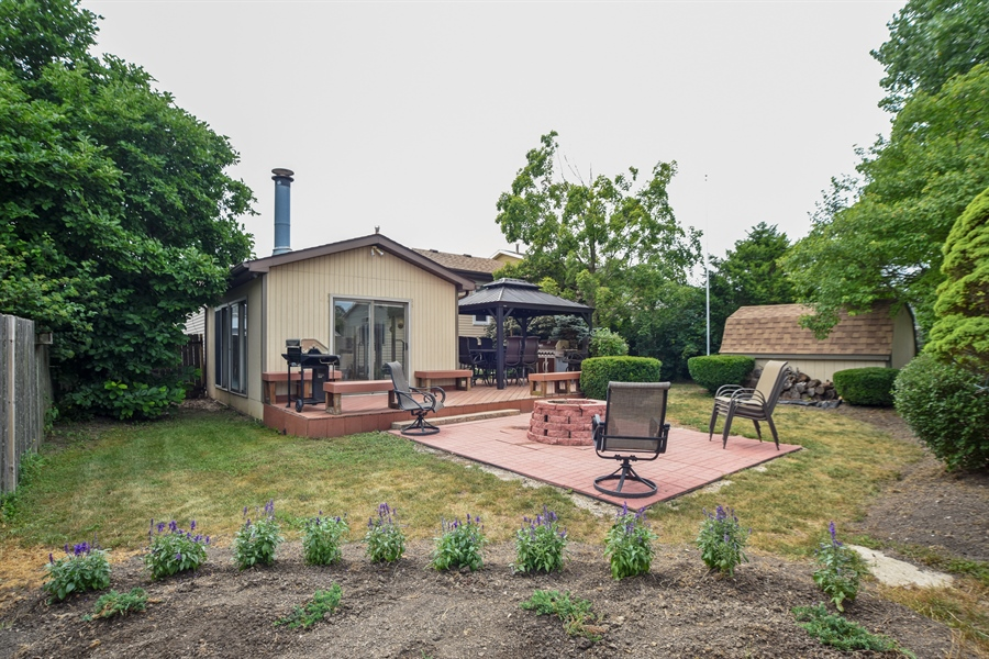 Real Estate Photography - 2946 W Nemesis Ave, Waukegan, IL, 60087 - Wonderful Back Yard Perfect for Entertaining