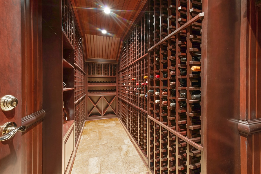 Real Estate Photography - 1433 N State Pkwy, Chicago, IL, 60610 - Wine Cellar