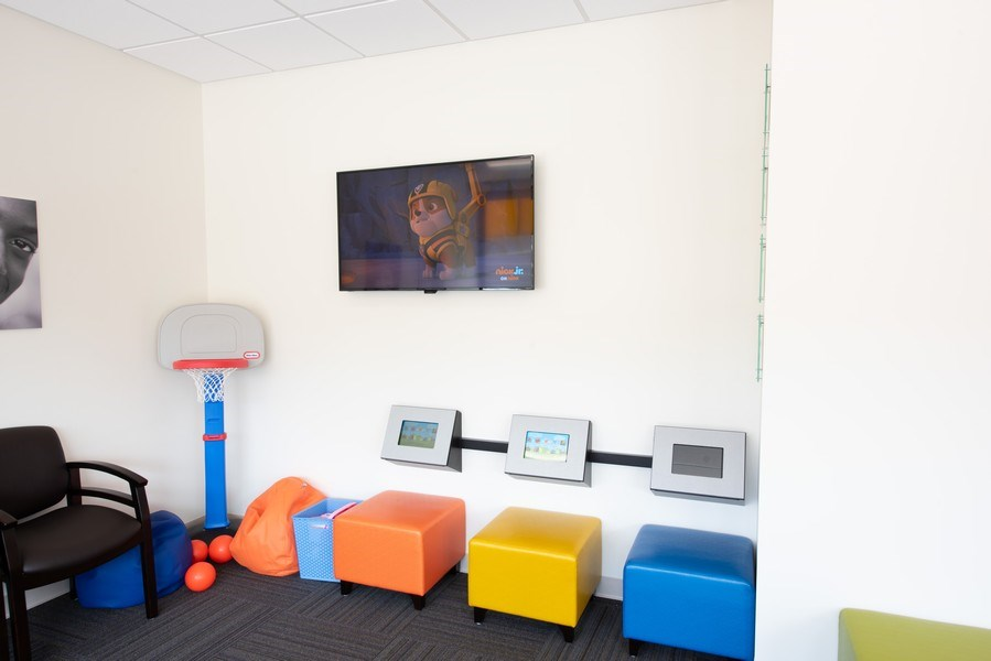 Real Estate Photography - 9842 Adams, Ste 101,HB KidsDentistry and Orthodontics, Huntington Beach, CA, 92646 - Kids Area