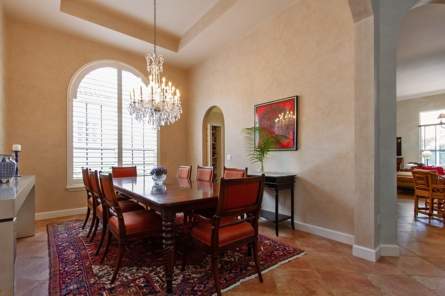 Real Estate Photography - 445 Pine Tree Court, Lake Worth, FL, 33462 - Dining Room