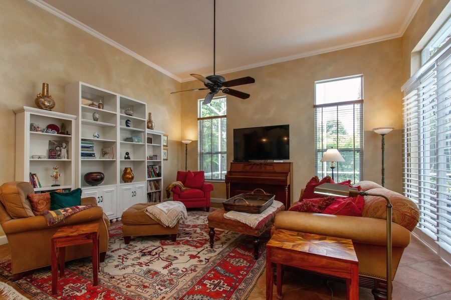Real Estate Photography - 445 Pine Tree Court, Lake Worth, FL, 33462 - Family Room