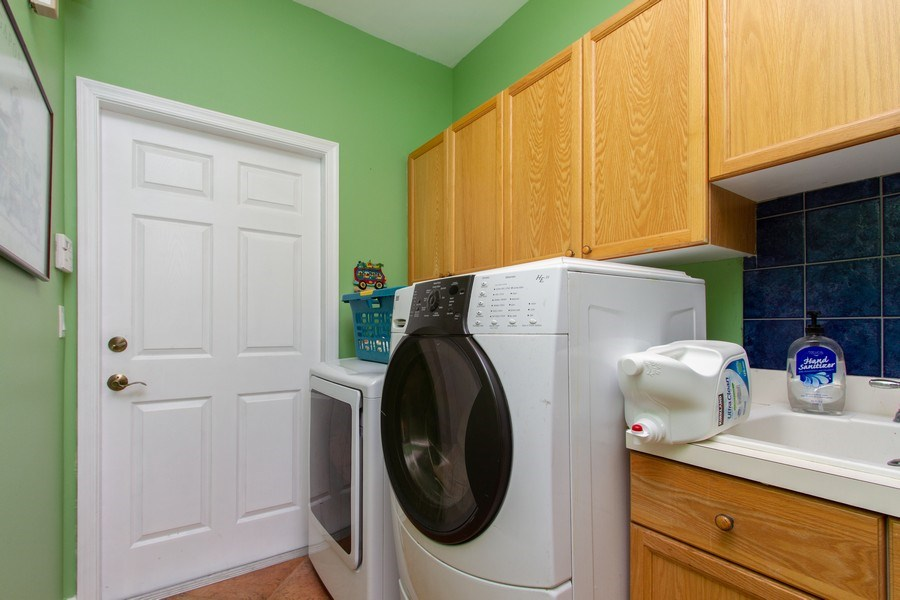 Real Estate Photography - 445 Pine Tree Court, Lake Worth, FL, 33462 - Laundry Room