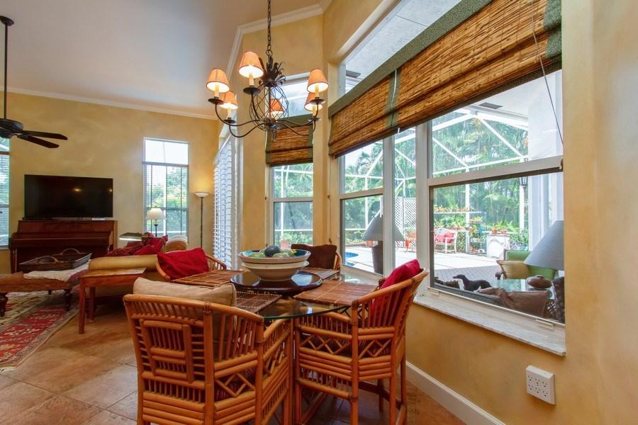 Real Estate Photography - 445 Pine Tree Court, Lake Worth, FL, 33462 - Breakfast Nook