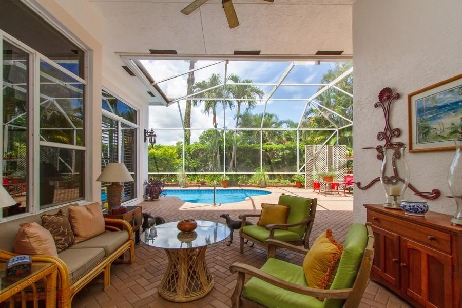 Real Estate Photography - 445 Pine Tree Court, Lake Worth, FL, 33462 - Patio