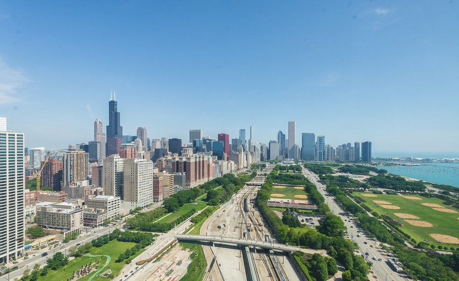 Real Estate Photography - 1211 S Prairie, Unit #3201, Chicago, IL, 60605 - North City - Lake  View