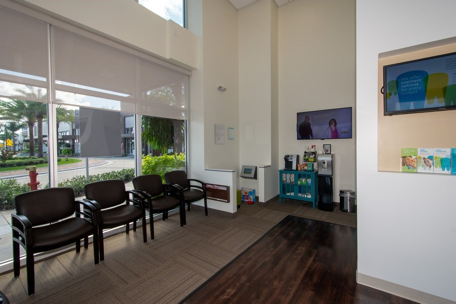 Real Estate Photography - 10430 Pines Blvd, SteC103,Dentists of Pines, Pembroke Pines, FL, 33026 - Sitting Room
