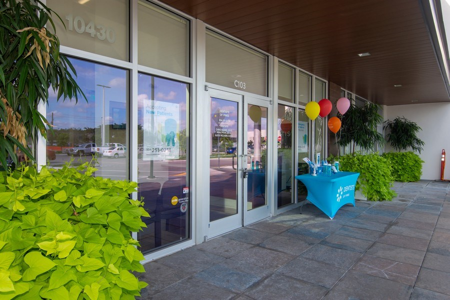 Real Estate Photography - 10430 Pines Blvd, SteC103,Dentists of Pines, Pembroke Pines, FL, 33026 - Entrance