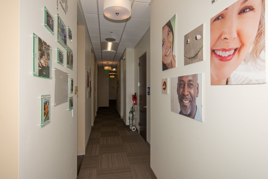 Real Estate Photography - 10430 Pines Blvd, SteC103,Dentists of Pines, Pembroke Pines, FL, 33026 - Hallway