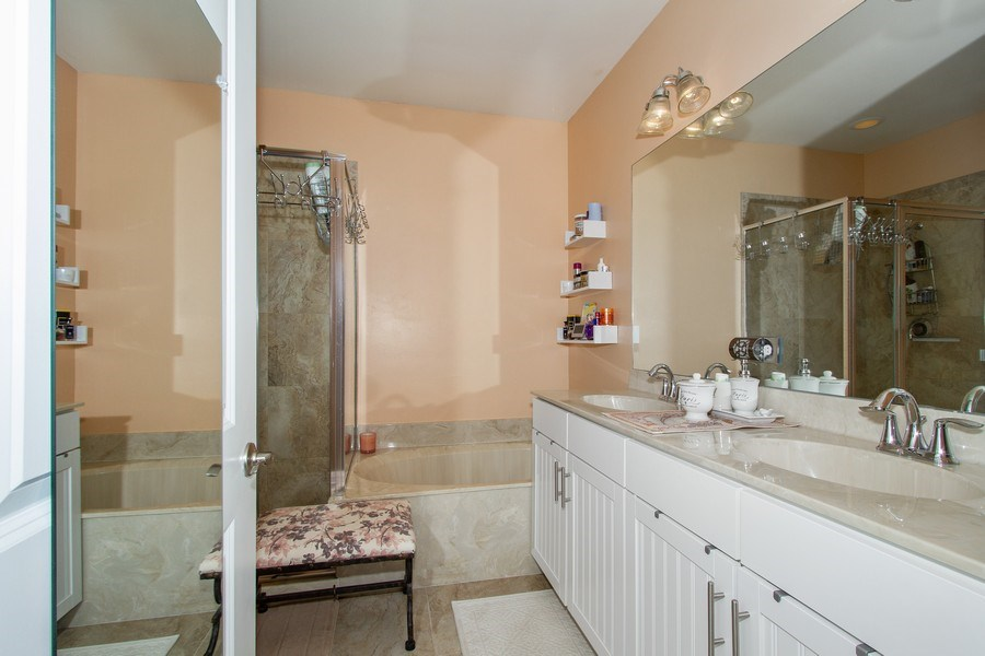 Real Estate Photography - 7701 Bristol Cir, Naples, FL, 34120 - Master Bathroom