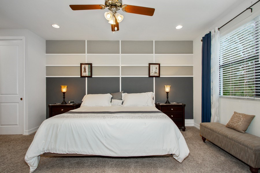Real Estate Photography - 7701 Bristol Cir, Naples, FL, 34120 - Master Bedroom