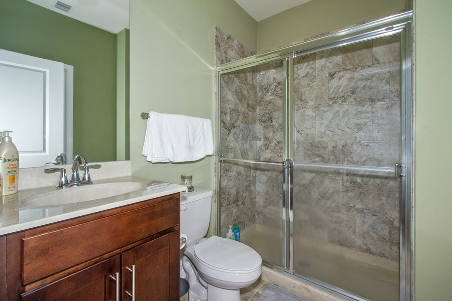Real Estate Photography - 7701 Bristol Cir, Naples, FL, 34120 - 2nd Bathroom