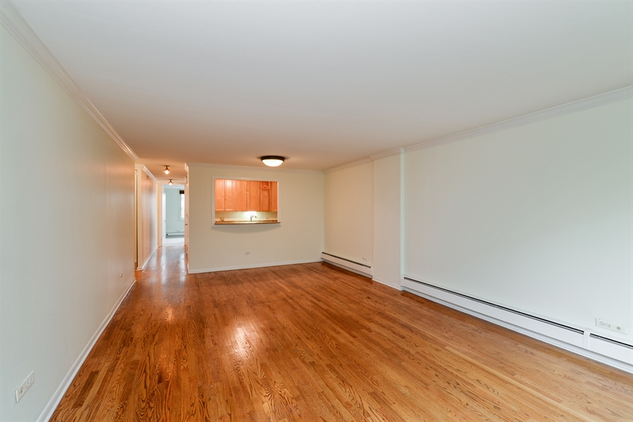 Real Estate Photography - 1344 N Dearborn Street #6A, Chicago, IL, 60610 - Great Room