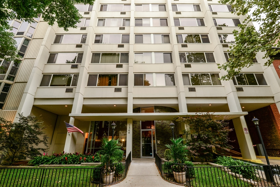 Real Estate Photography - 1344 N Dearborn Street #6A, Chicago, IL, 60610 - Front View