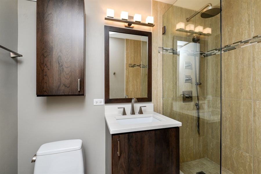 Real Estate Photography - 1344 N Dearborn Street #6A, Chicago, IL, 60610 - Bathroom