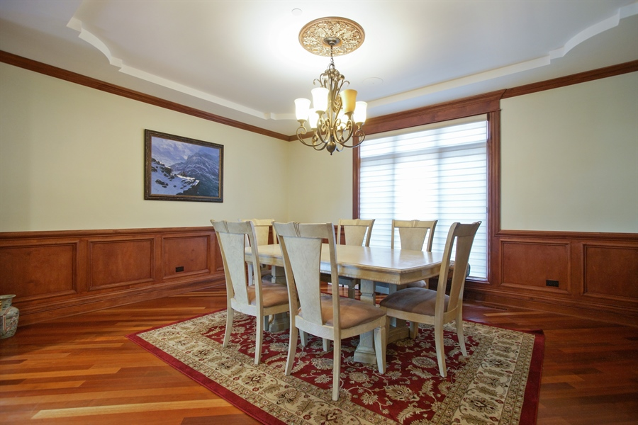 Real Estate Photography - 1909 Courtland Ave, Park Ridge, IL, 60068 - Dining Room