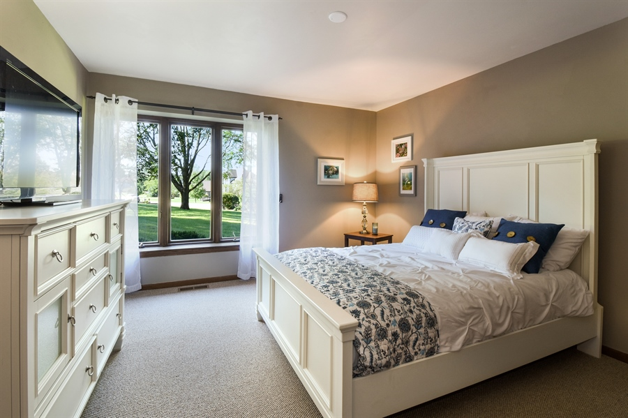Real Estate Photography - 20943 N Heather Court, Kildeer, IL, 60047 - 2nd Bedroom
