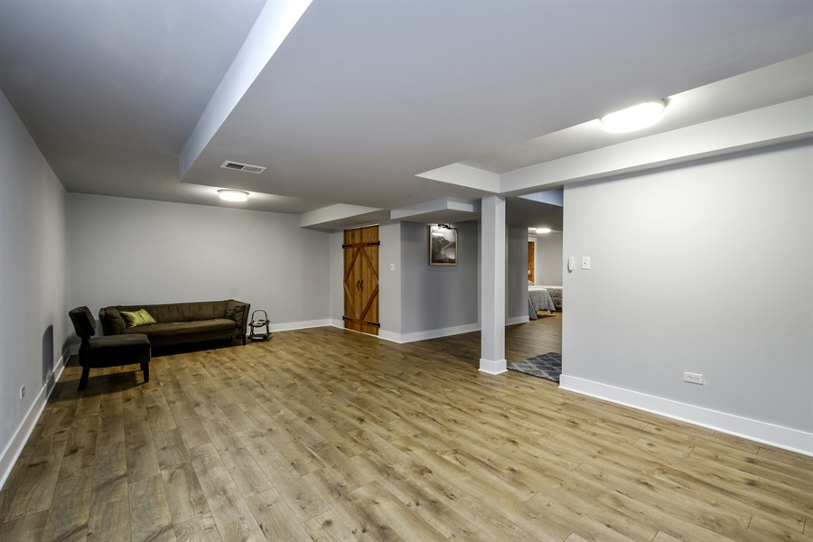 Real Estate Photography - 20943 N Heather Court, Kildeer, IL, 60047 - Lower Level Recreation Room